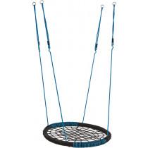 KBT Oval Nest Schommel - Zwart/Blauw