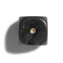 Philos Parelmoer Dobbelsteen 12 mm 36 stuks - Zwart