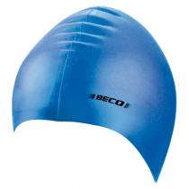 Beco Silicone Badmuts Junior - Blauw