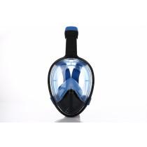 Atlantis 2.0 Snorkel - Zwart / Blauw