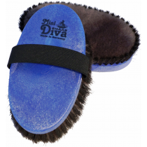 Haas Diva Mini Borstel - Blauw