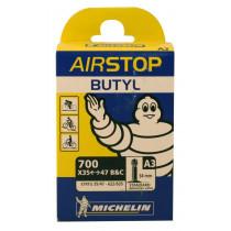 Michelin Fiets Binnenband Airstop A3 - 700x35/47c - 35/47-622 - Schrader Valve