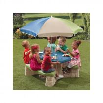 Step2 Picknick Tafel met Parasol