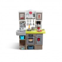 Step 2 Contemporary Chef Kitchen Speelkeuken - Grijs / Bruin / Geel