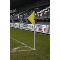UEFA Hoekvlagstok Wit 30 (Met Veer)