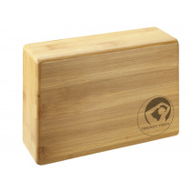 Trendy Sport Bamboo Yoga Blok - Beige - 23 x 15 x 7.5 cm