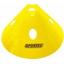 Markeringsbollen Prof Soft Plastic Extra Groot - Geel