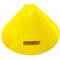 Markeringsbollen Soft Plastic Extra Groot - Geel - 10 stuks