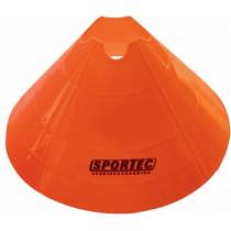 Markeringsbollen Soft Plastic Extra Groot - Oranje - 10 stuks