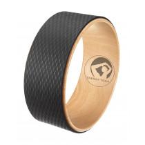 Trendy Sport Roda Yoga Wiel - Zwart - 32 cm