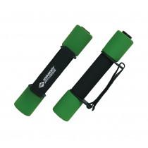Schildkröt  Soft Aerobic Dumbbells - Zwart / Groen - 0.5 kg