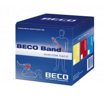 Beco Fitness/therapie Elastiek Latex Medium 15 cm x 25 mtr - Rood