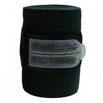 Equest Alpha Bandage Fleece - 3M - Zwart