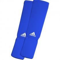 Adidas Elastische Scheen/Wreefbeschermers - Blauw