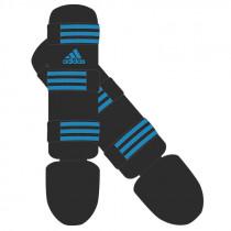 Adidas Good Scheenbeschermers - Zwart/Blauw