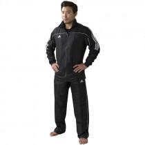 Adidas Team Track Trainingsjack - Zwart/Wit