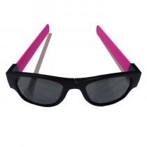 Clix Zonnebril - Zwart / Roze - Zwart
