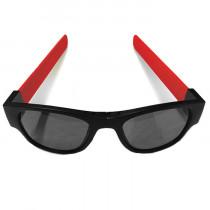 Clix Zonnebril - Zwart / Rood - Zwart