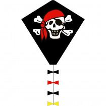 HQ Eco Line Eddy Eenlijnsvlieger - Jolly Roger - 50 cm