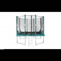 Hi-Flyer 1075 Combi Trampoline + Veiligheidsnet - 300 cm x 230 cm - Groen