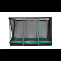 Inground Etan Premium Gold 0965 Combi Trampoline + Veiligheidsnet - 281 x 201 cm - Groen