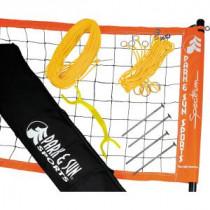 Megaform Spectrum 2000 Volleybalnet - Geel