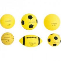 Super-Safe Footbal 20cm - Geel