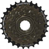 Shimano Vrijloop Tz20 6-speed Bruin