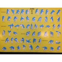 Nihon Judo Poster Tachi-Waza Technieken