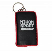 Nihon Stootkussen Keychain - Zwart