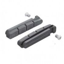 Shimano Remrubber LOS (R55C)(1 paar) voor keramische velg Dura-Ace/Ultegra