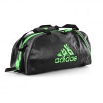 Adidas Super Boxing Sporttas - Zwart/Groen