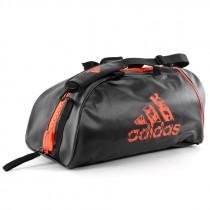 Adidas Super Boxing Sporttas - Zwart/Oranje