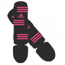 Adidas Good Scheenbeschermers - Zwart/Roze