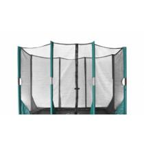 Etan Hi-Flyer Trampoline Veiligheidsnet - 9 x 6,5 ft / 281 x 201 cm - Zwart / Groen