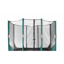 Etan Hi-Flyer Trampoline Veiligheidsnet - 10 x 7,5 ft / 310 x 232 cm - Zwart / Groen