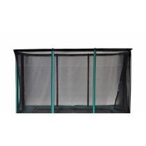 Etan Trampoline Veiligheidsnet - 9 x 6,5 ft / 281 x 201 cm - Groen / Zwart