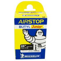 Michelin Fiets Binnenband Airstop E4 - 22x1 3/8-24x1.75 - 37/47-490/507 - Schrader Ventiel 34mm