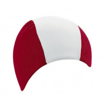 Badmuts Polyester - Rood / Wit