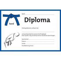 Diploma - Blauwe Band