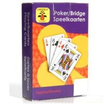 Longfield speelkaarten geplastificieerd