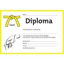 Diploma - Gele Band