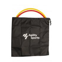 Agility Sports Coördinatie Hoepel Tas - Zwart