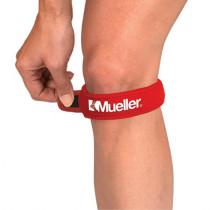 Mueller OSFM Jumpers Knieband met Straps - Rood