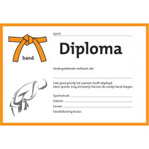 Diploma - Oranje Band