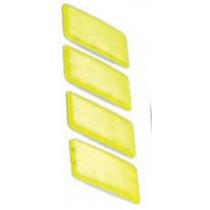 Booster rechthoek Reflectieset - 4 stuks