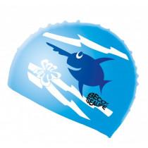 Beco-Sealife Siliconen Badmuts Junior - Blauw