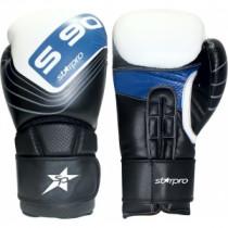 Starpro S90 MMA Sparring Handschoen - Wit / Zwart / Blauw