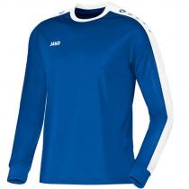 Jako Striker Shirt Met Lange Mouwen - Heren - Royal Blauw/Wit_116