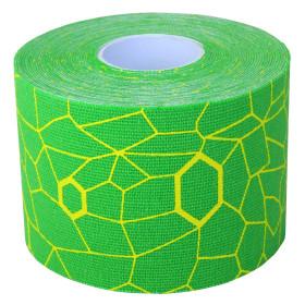 Thera-Band Kinesiologische Tape Rol - 5 m - Groen/Geel